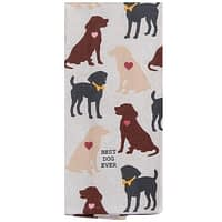 Best Dog Ever Kitchen Towel