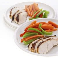 Microwave Plates Set of 4