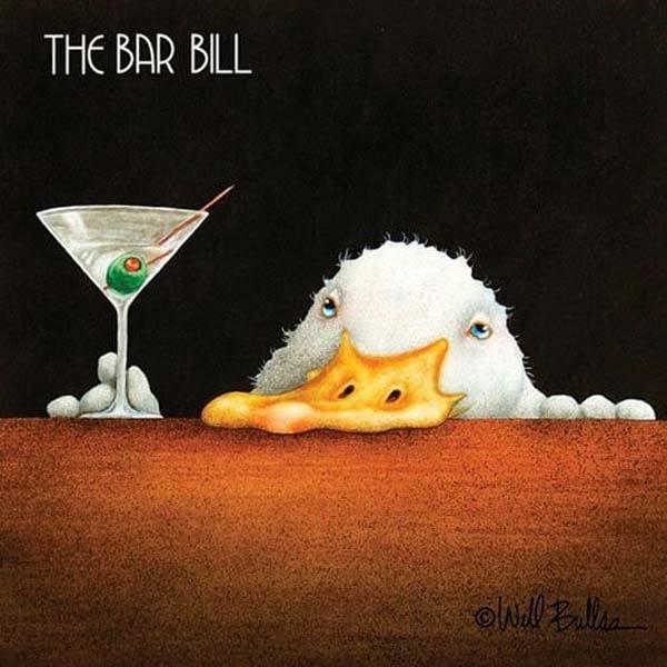 Bar Napkin Bar Bill