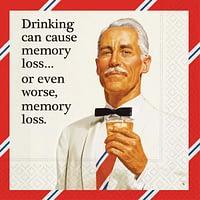 Bar Napkin Memory Loss