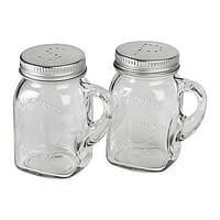S&P Shaker Set Mason Jar