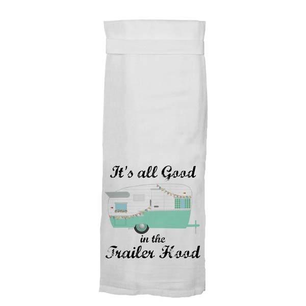 Towel Good In Trailer Hood