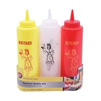 BBQ Set Ketchup Mustard Mayo