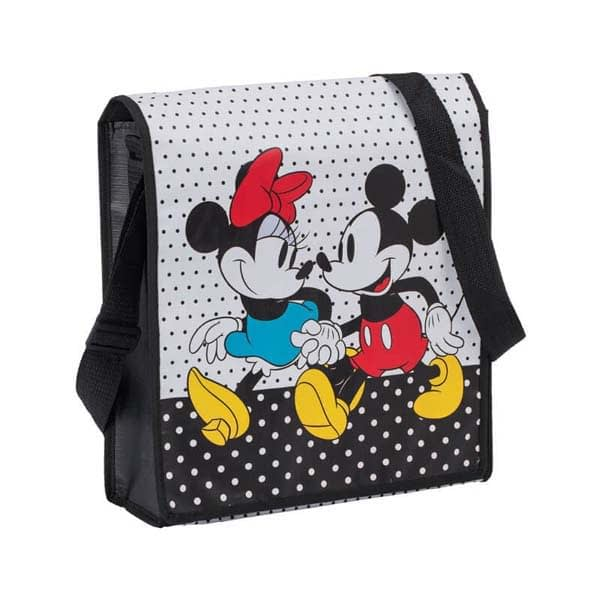 Mickey & Minnie Messenger Tote